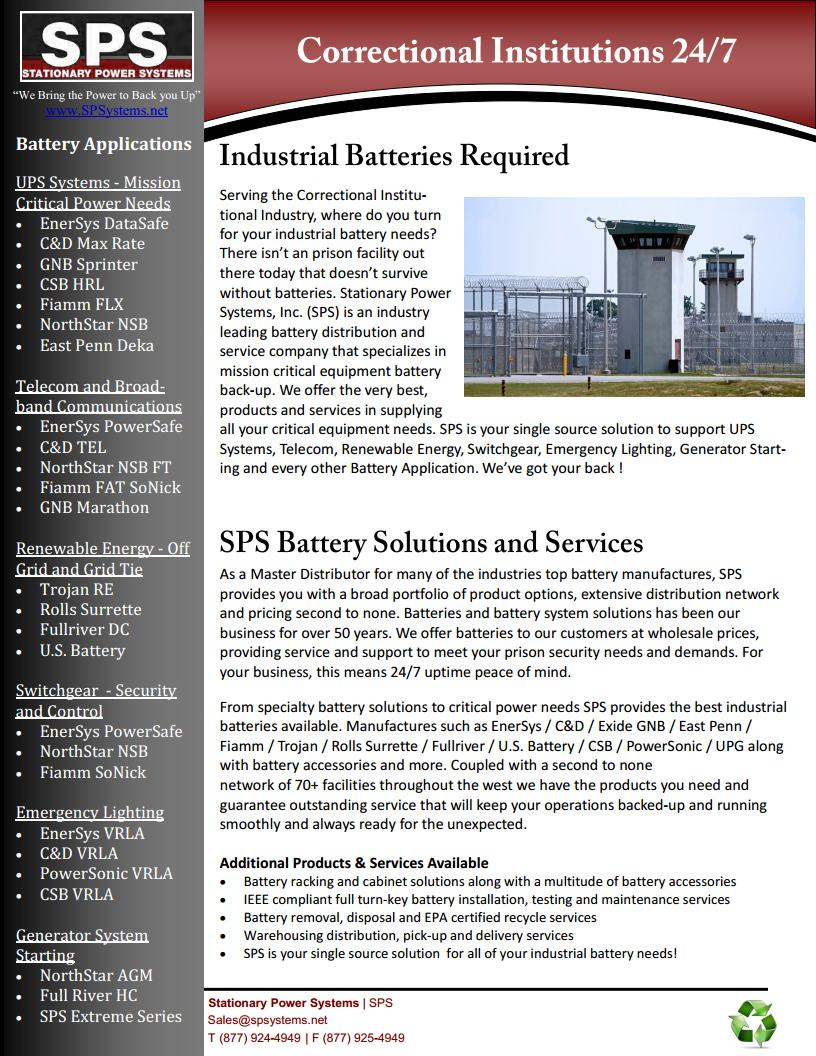 SPS Correctional Institutions Corporate v1.3.1